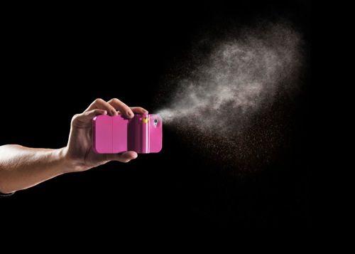 Spraytect firingcloseup magenta phone crop