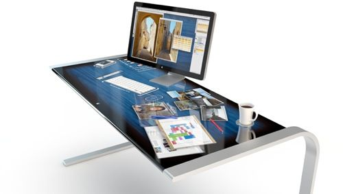 idesk. Black Bedroom Furniture Sets. Home Design Ideas