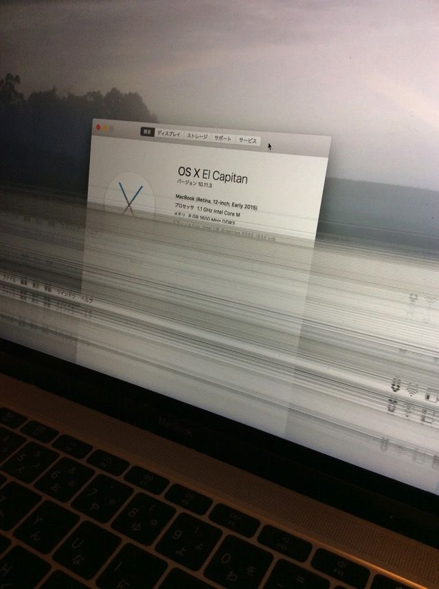 修理記録】Macbookが落下して故...