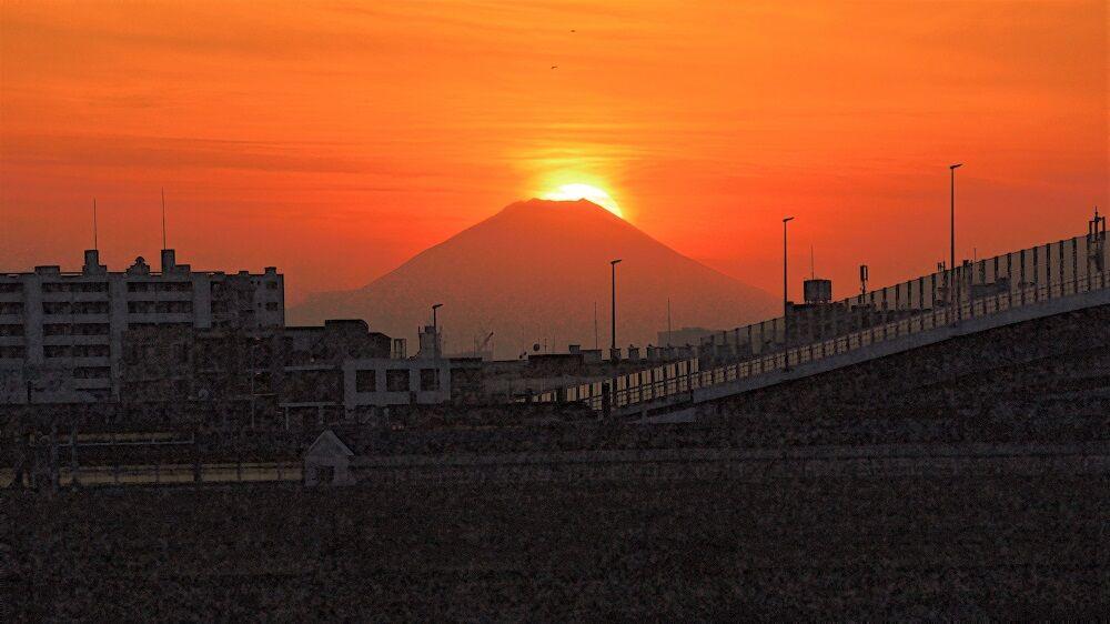 2021 ダイヤモンド 富士 富士山撮影カレンダーβ版 ダイヤモンド富士・パール富士の撮影ポイント