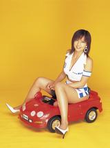 安田美沙子179-4レースクイーン