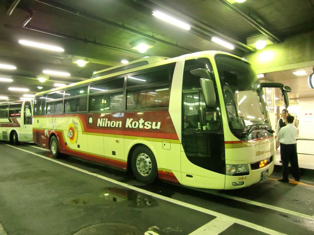 山で働いていた○○が淡々と綴る日記もどき:日本交通 鳥取-神戸・大阪線16便