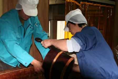 梨酒の搾り作業4