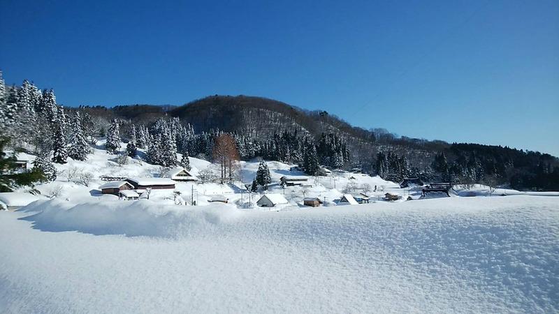 世屋の冬の様子3