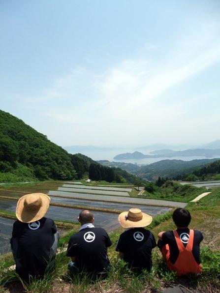 棚田からの眺め