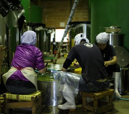 梅酢の仕込み3