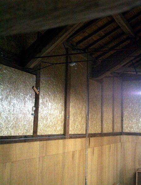 酒蔵の改装 Harvest panel4