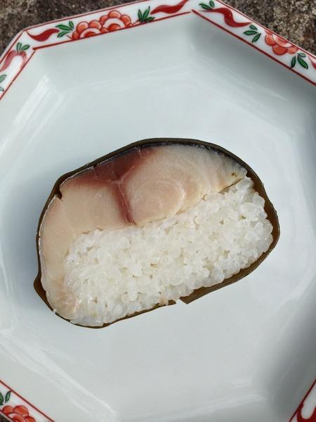 朽木旭屋の鯖寿司6