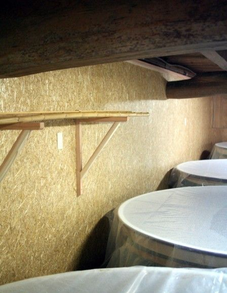 酒蔵の改装 Harvest panel3