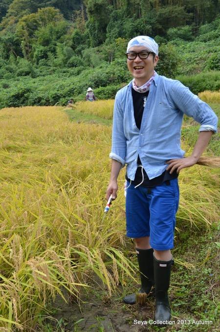 2013稲刈りファッションショー3