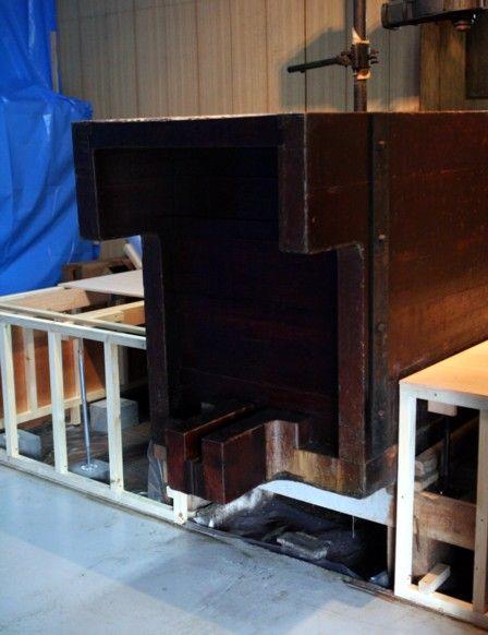 搾り槽の改修3