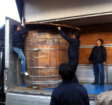 木桶の出荷5
