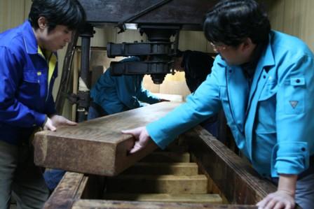 富士玄米黒酢の搾り14