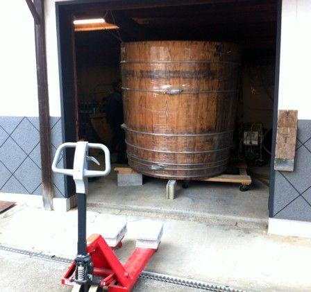 木桶の出荷