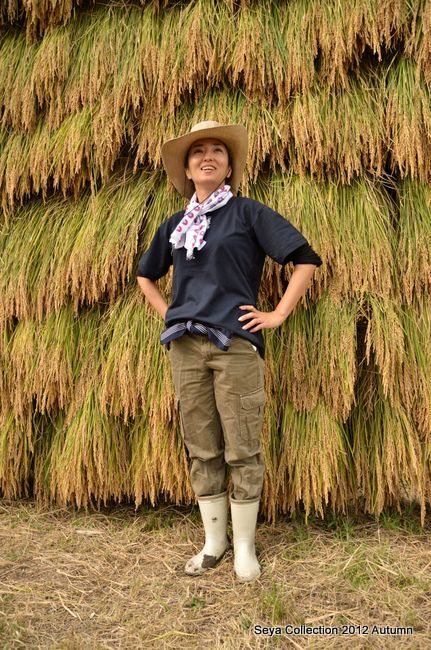 稲刈りファッションショー結果4