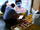 りんご洗い