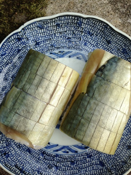 朽木旭屋の鯖寿司3