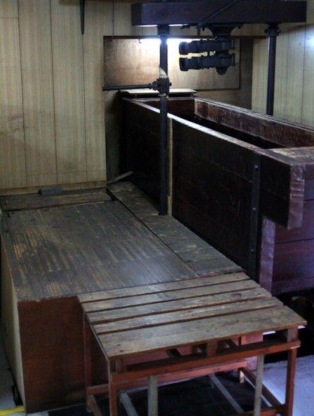 搾り槽の改修