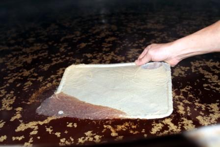 富士玄米黒酢の植菌4