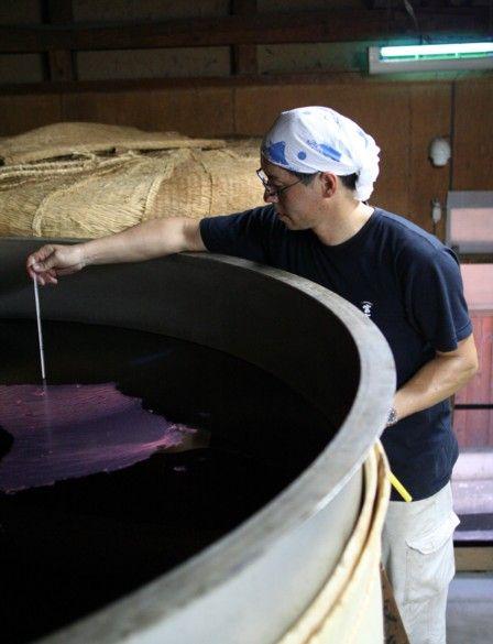 2010紅芋酢の仕込み28