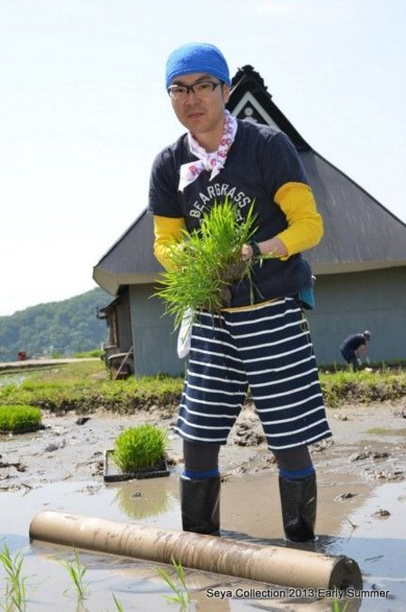 2013田植えファッションショー5