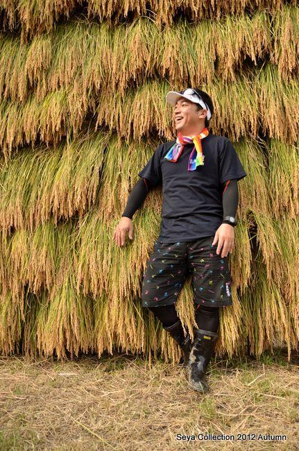 稲刈りファッションショー結果