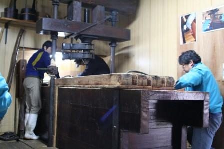 富士玄米黒酢の搾り7