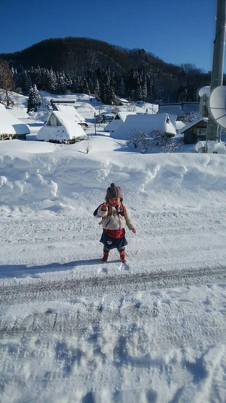 世屋の冬の様子1