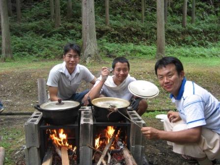 山田製油さんカレー作り1