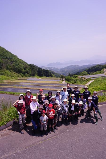 2016田植え体験会10