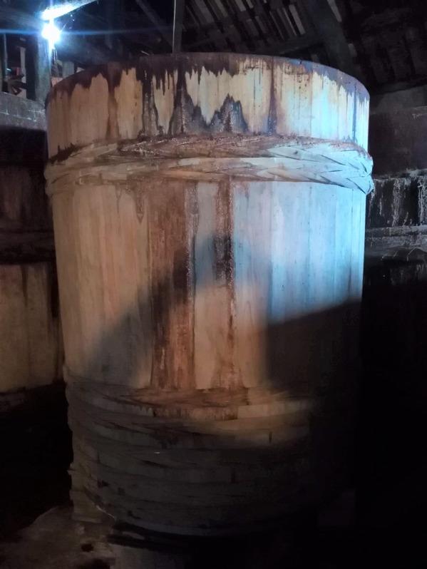 現代の木桶