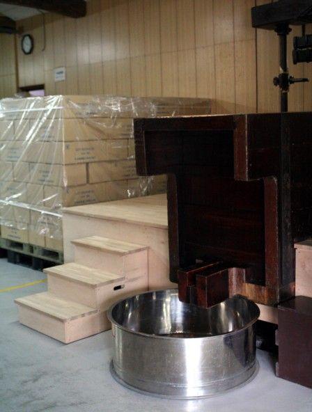 搾り槽の改修5