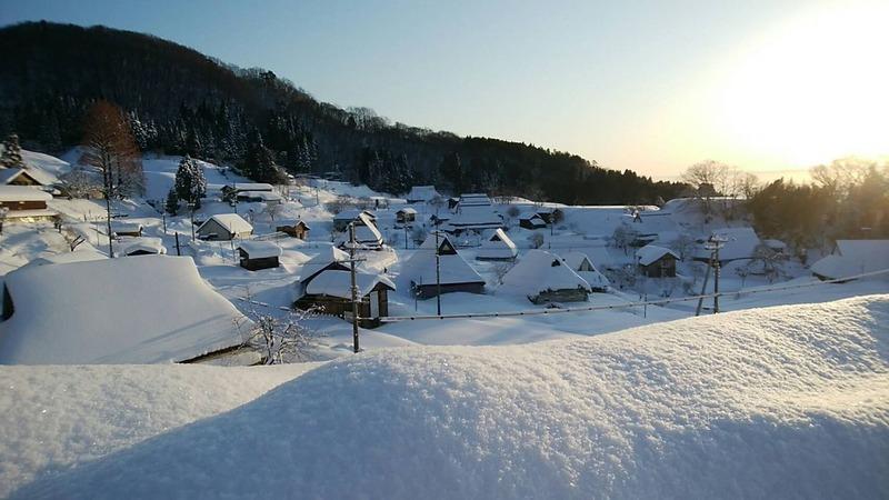 世屋の冬の様子2