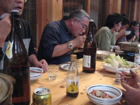 鍋=富士ゆずぽん酢
