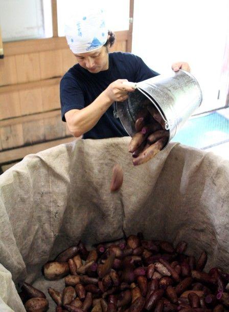 2010紅芋酢の仕込み4