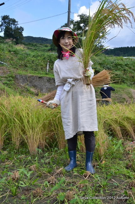 稲刈りファッションショー結果3