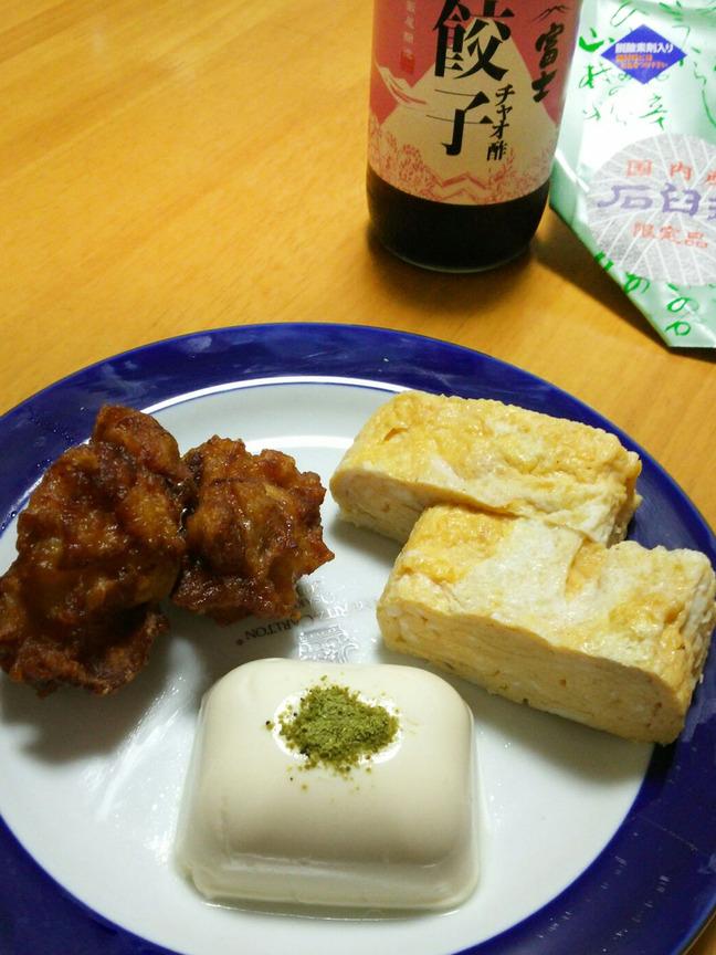 チャオ酢料理3種