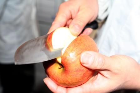 りんごの仕込4