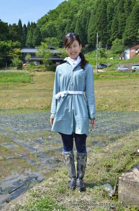2013田植えファッションショー4