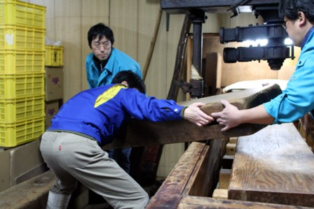 富士玄米黒酢の搾り15