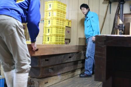 富士玄米黒酢の搾り12