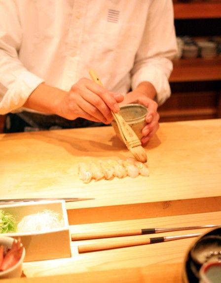 縄屋 鮨の最終試食会3