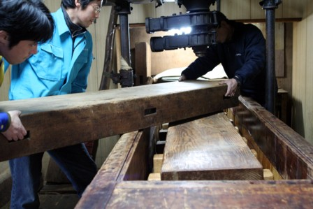 富士玄米黒酢の搾り16