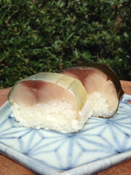 朽木旭屋の鯖寿司