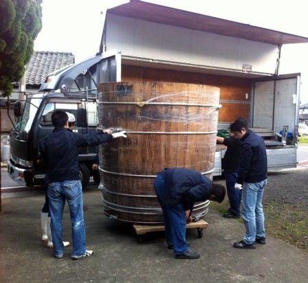 木桶の出荷3