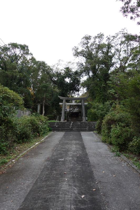 徳光神社全景