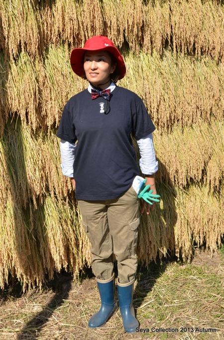 2013稲刈りファッションショー7