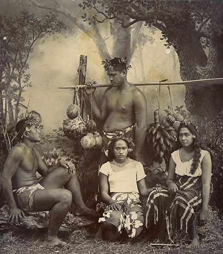 ポリネシア系タヒチ人