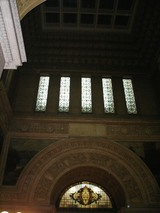 中央広間天井