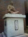 細井平洲銅像(東海市立中央図書館)